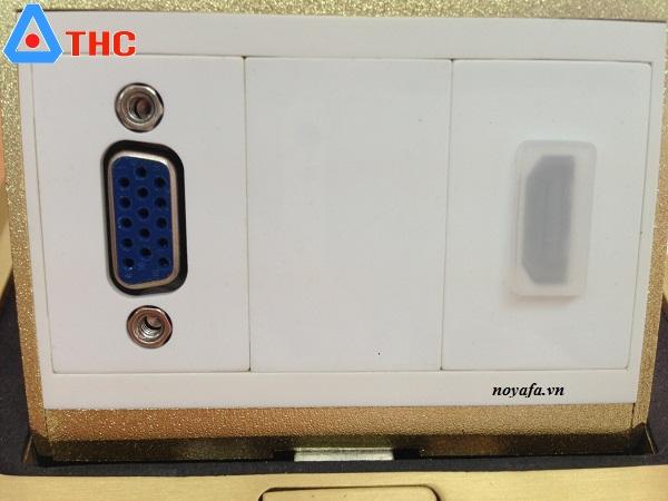 Ổ cắm âm sàn Sinoamigo nhân VGA + HDMI