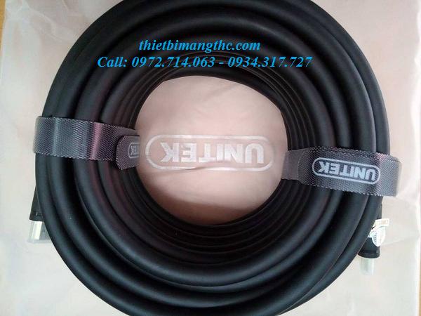 Dây cáp hdmi, cable hdmi 20m YC-144 unitek