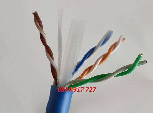 Dây cáp mạng AMP cat6, cable  AMP cat6e chính hãng  PN 1427254-6