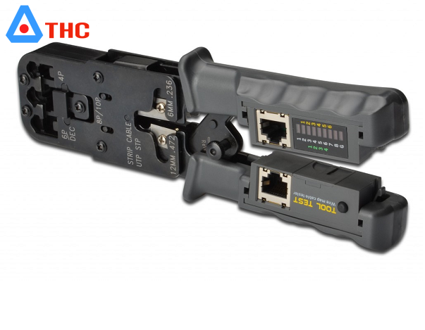 Kìm mạng đa năng HT- 022 bấm đầu mạng RJ45,RJ11,RJ12