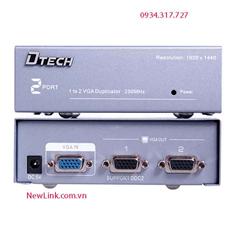 Bộ chia vga 1 cpu ra 2 màn hình D-TECH 7252