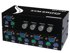 KVM 4 Vào 1 ra (cổng PS2) hàng chính hãng